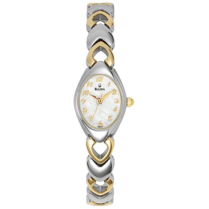 Women's Bulova watch - Stainless steel 2-tone