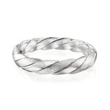 Men's Braided Band in Sterling Silver