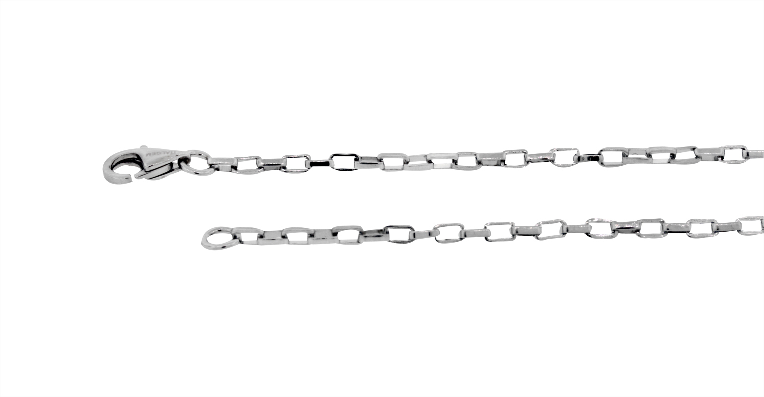 20'' 'Rollo' Style Chain - Stainless steel