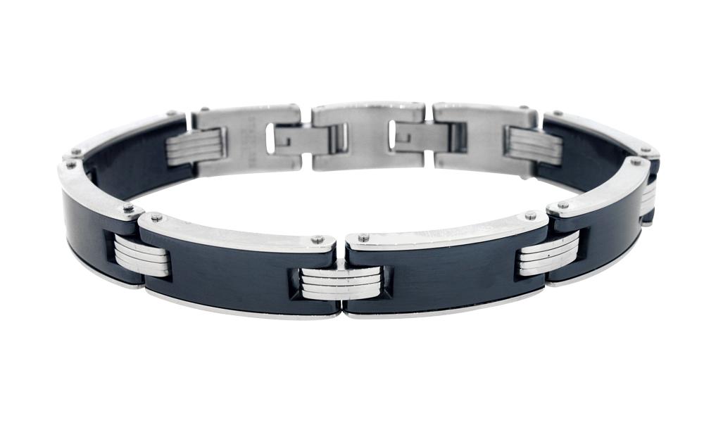 Bracelet - Italian stainless steel 2-tone