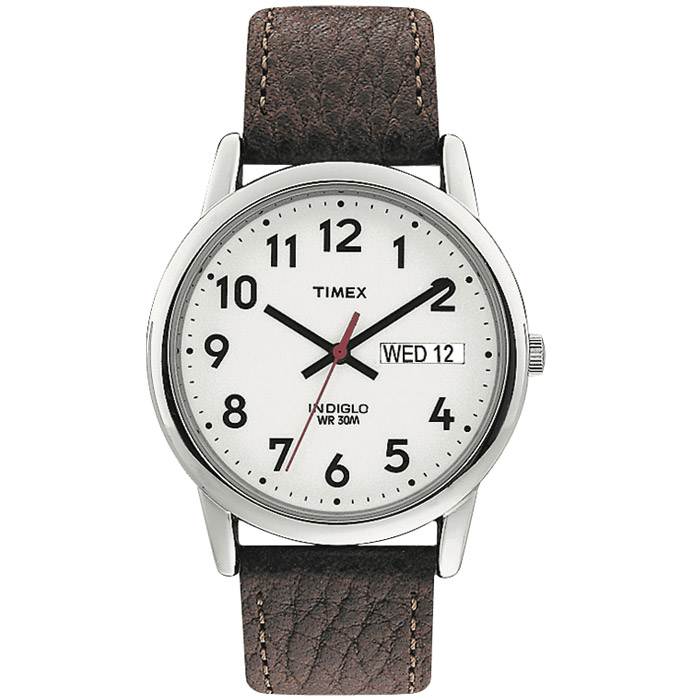 watch for men - Genuine leather strap