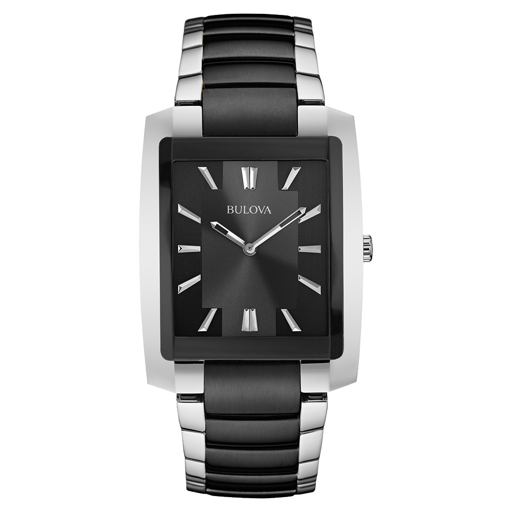 watch with quartz movement for men - Stainless steel.