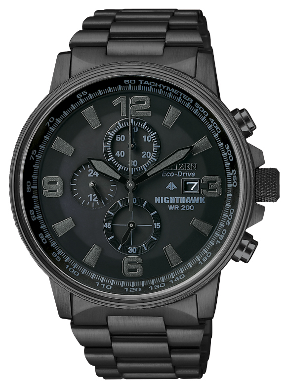 Eco-Drive watch for men - Stainless steel.
