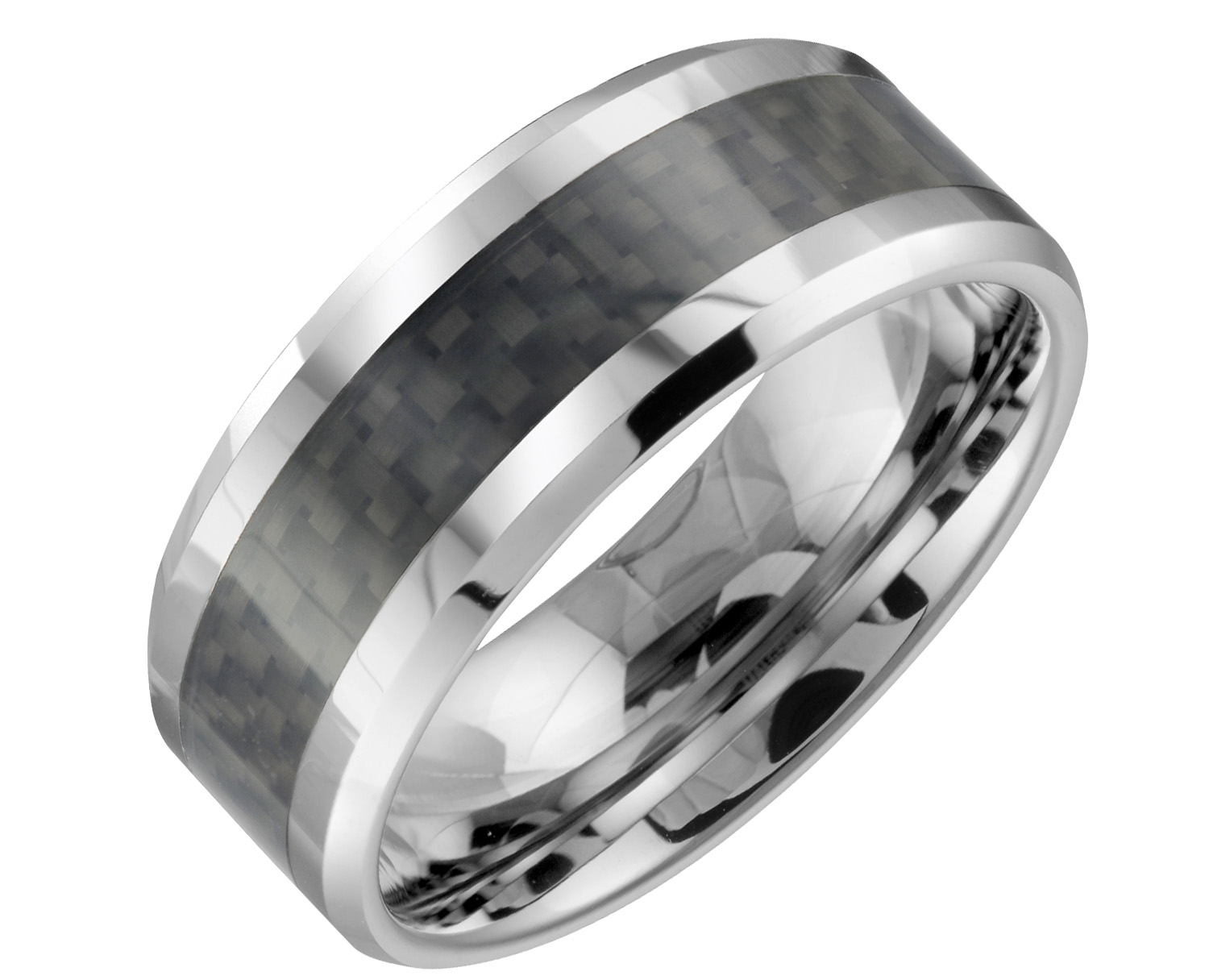 Band for men - Tungsten and carbide