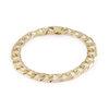 8'' bracelet for men - 10K yellow Gold