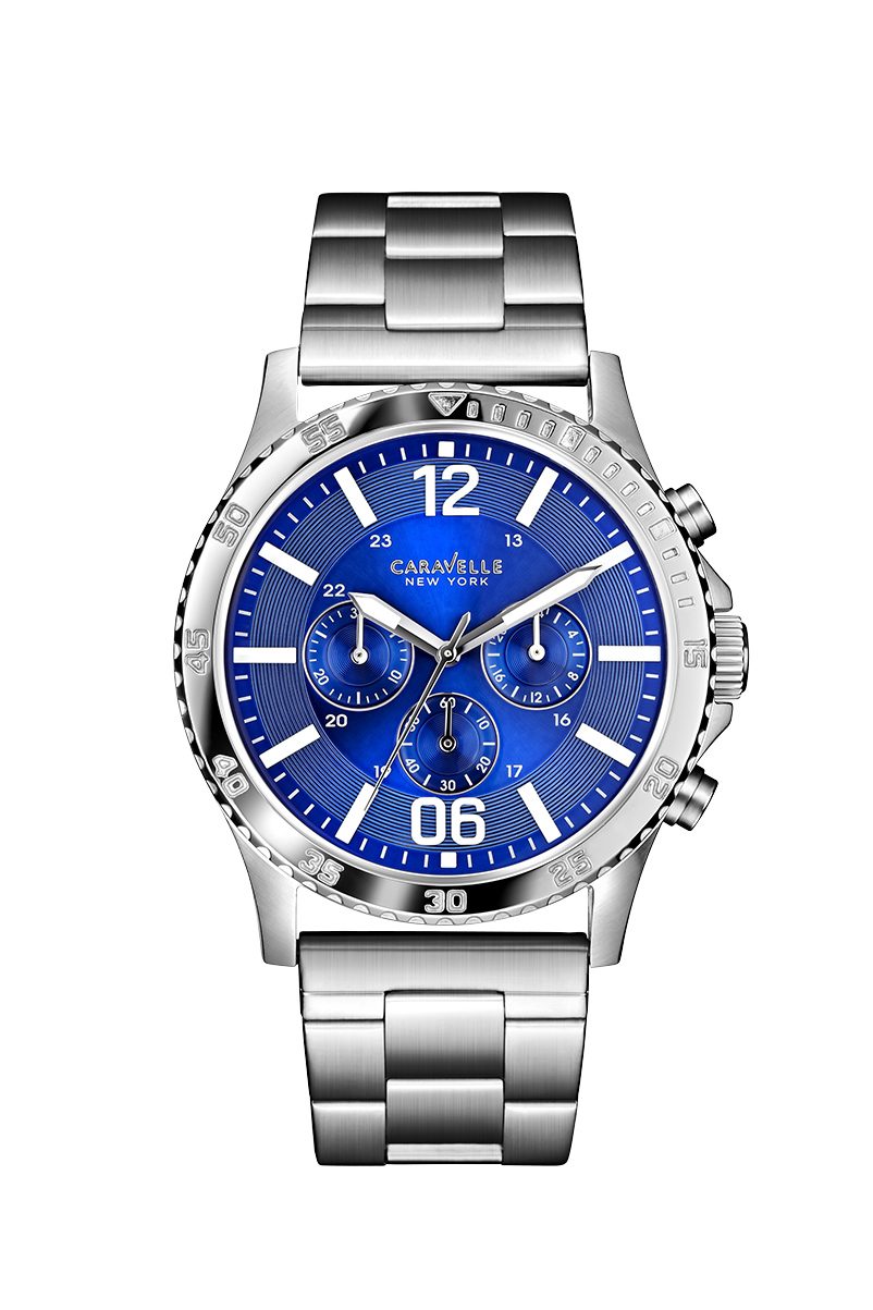 New York watch for men - Stainless steel