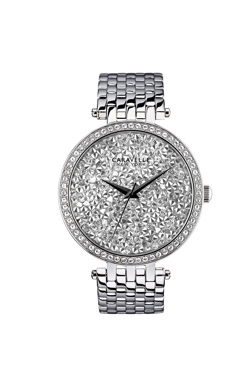 New York watch for women - Stainless steel & Swarovski® crystals.