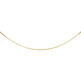 12'' Box chain for babies - 10K yellow Gold
