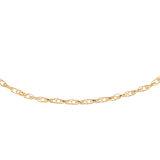 7.5'' Fancy bracelet - 10K yellow Gold