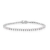 7.25'' Tennis bracelet for women - Sterling silver & Cubic zirconia