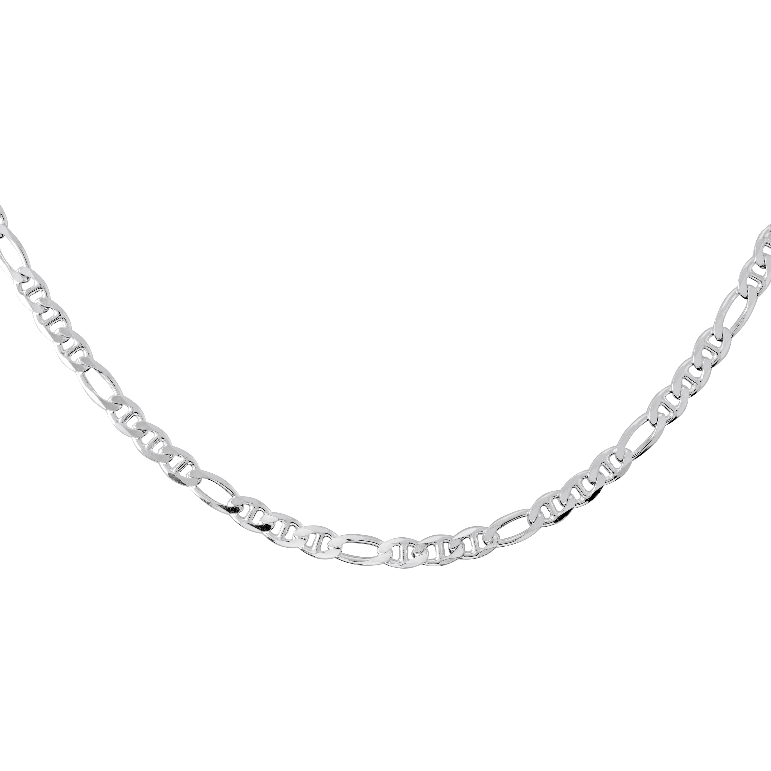 Chaîne figarucci 20'' - Argent sterling