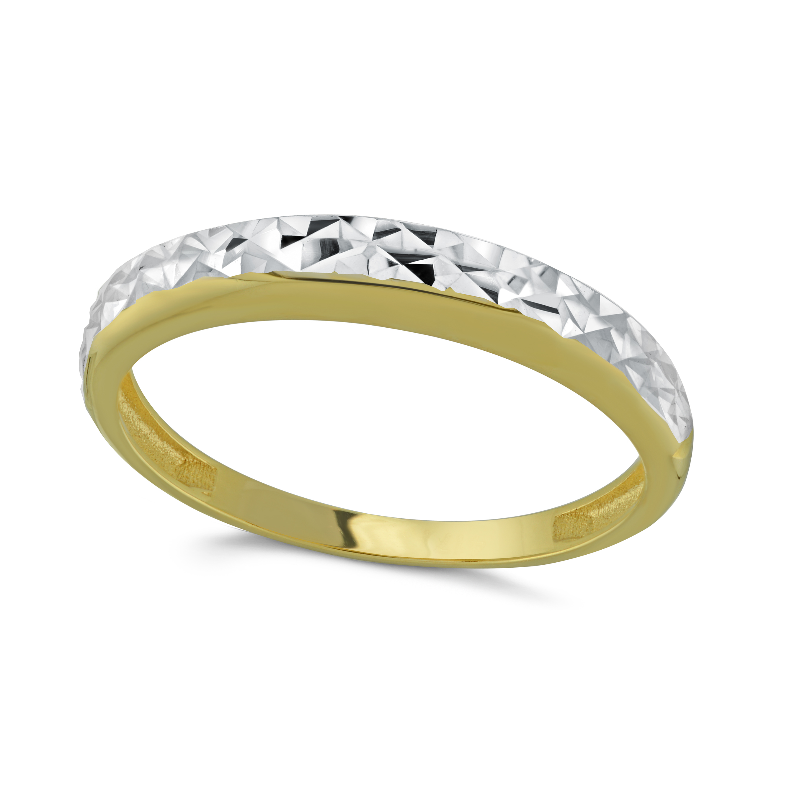 Women's Ring - 10K 2-tone gold (yellow and white)