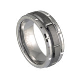 Band for men - Tungsten & Ceramic