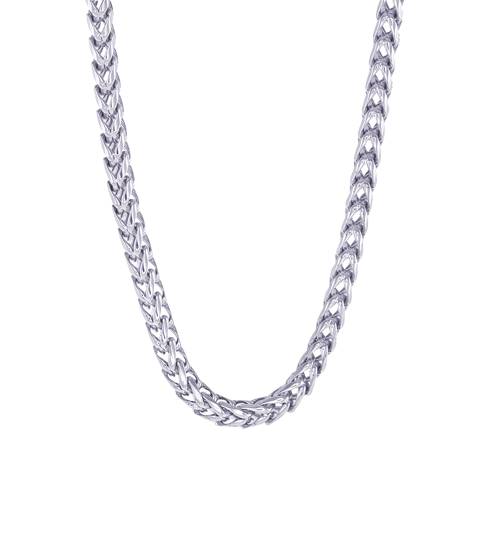 24'' Franco chain - Stainless steel