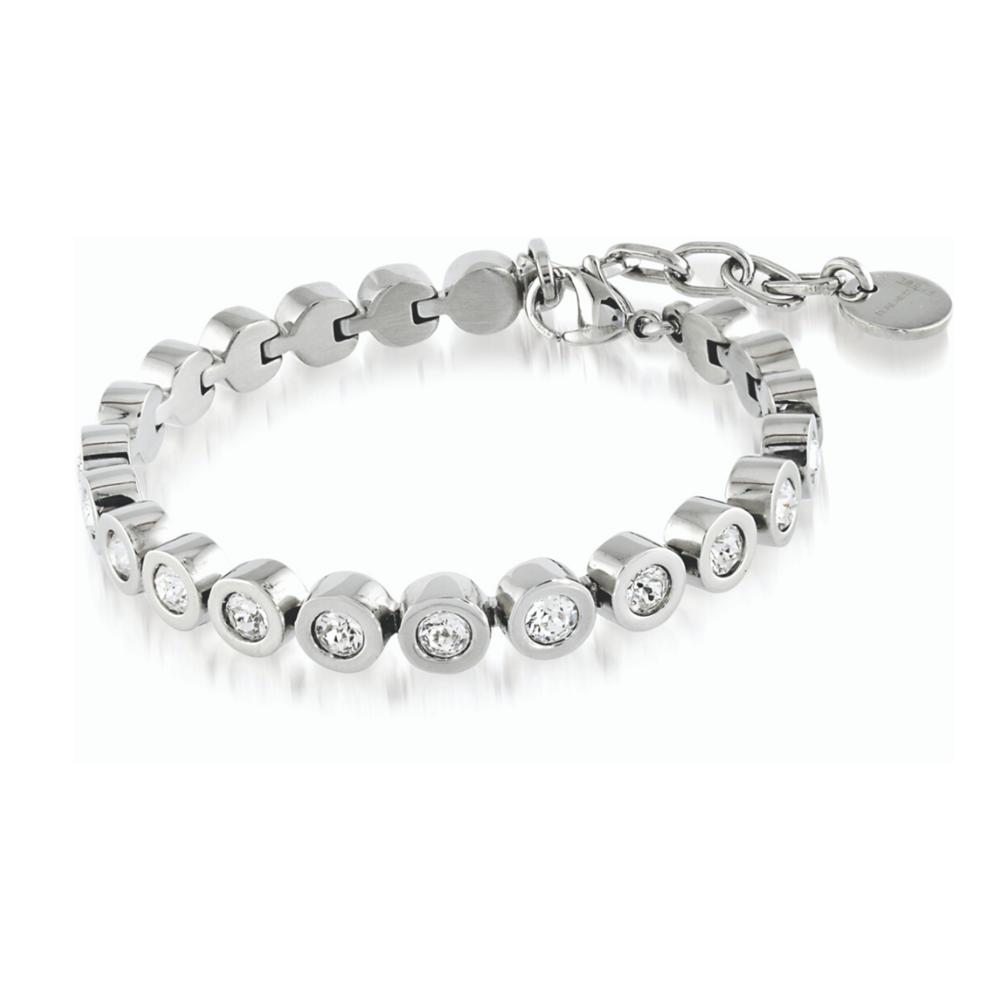 Bracelet - Stainless steel & Swarovski crystals