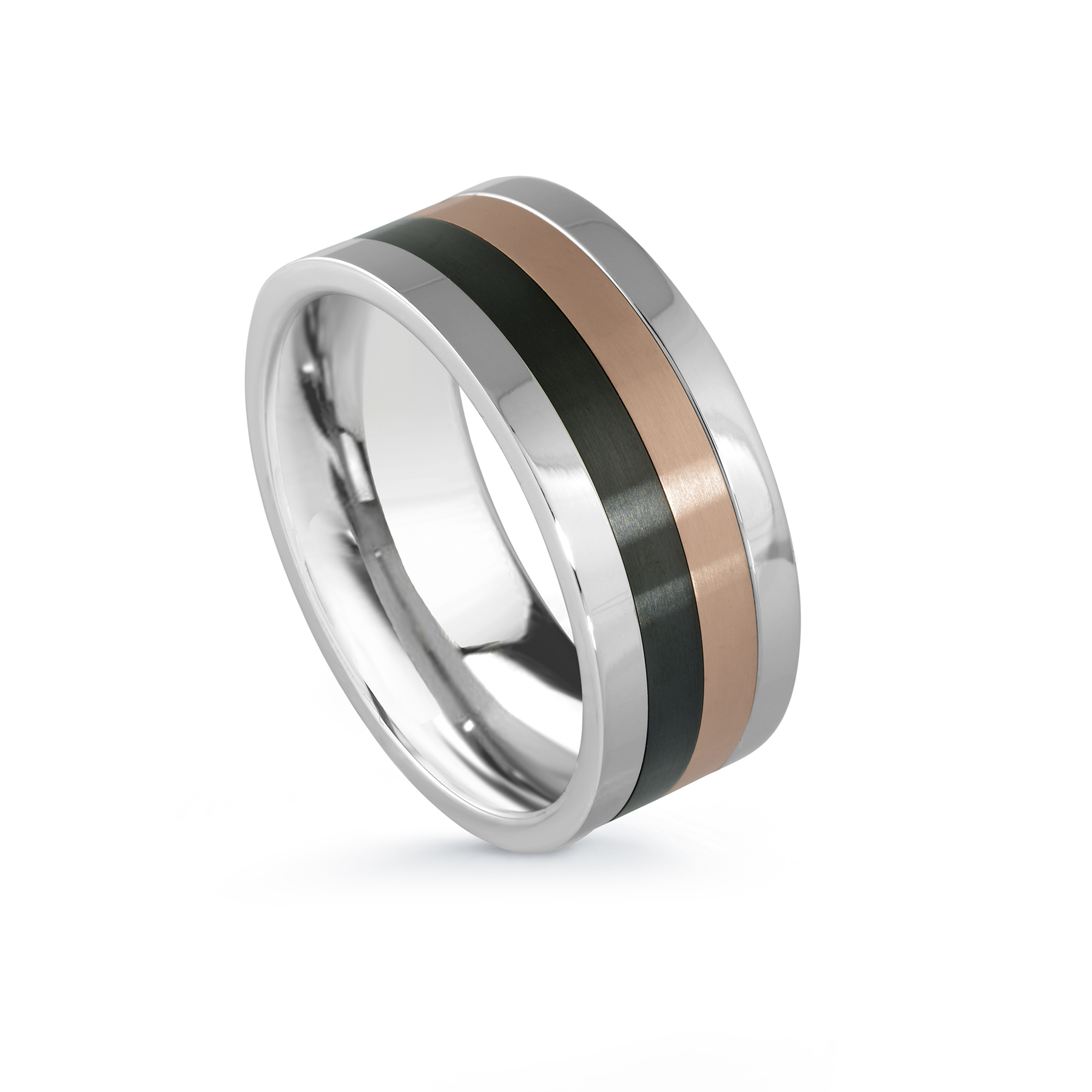 Band - 3-tones Stainless steel