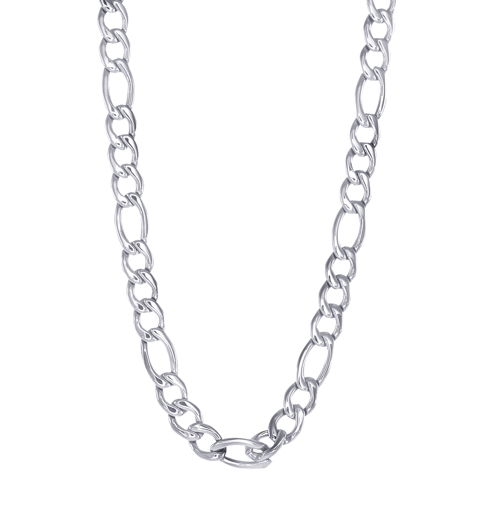 22'' Figaro chain - Stainless steel