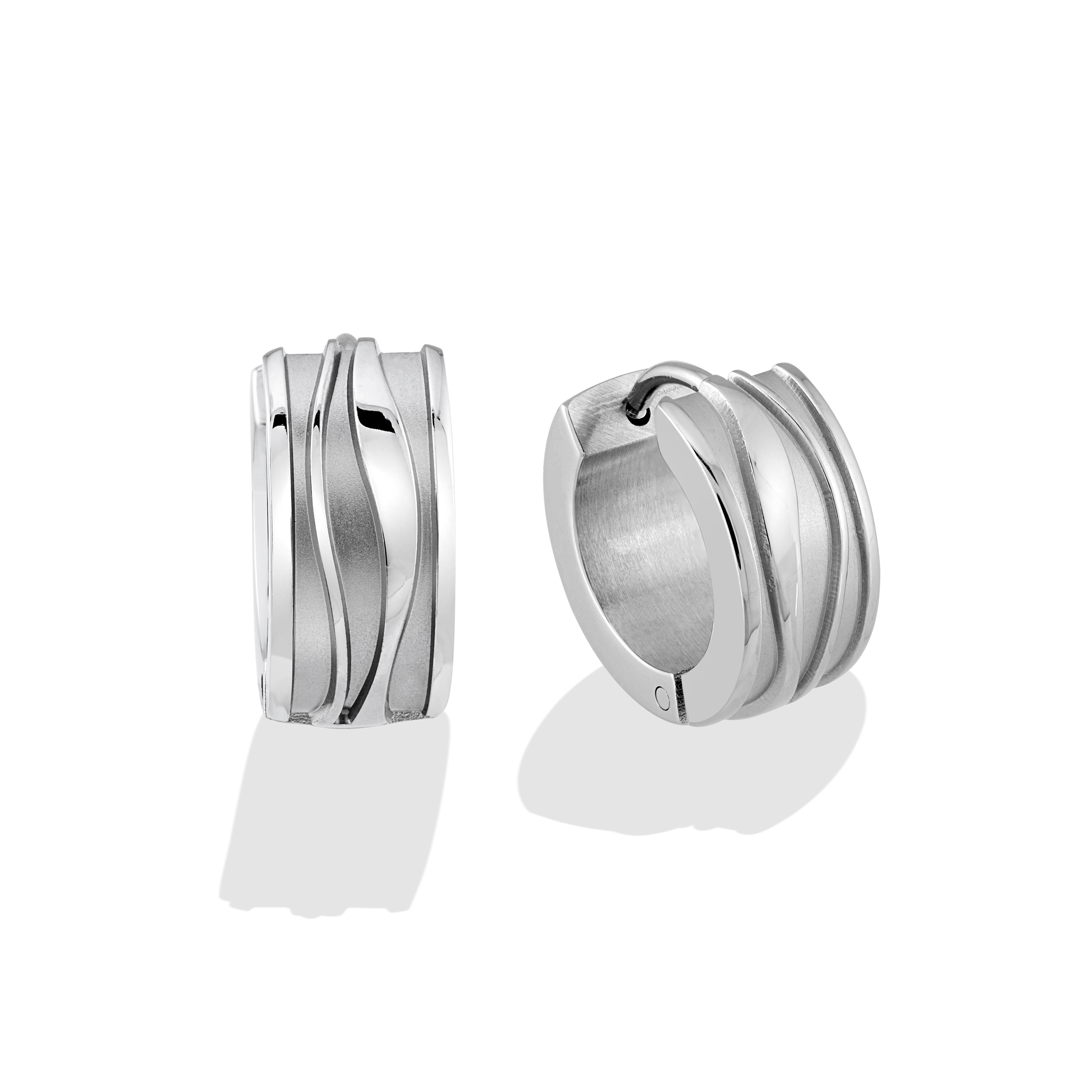 Huggies earrings - Stainless steel