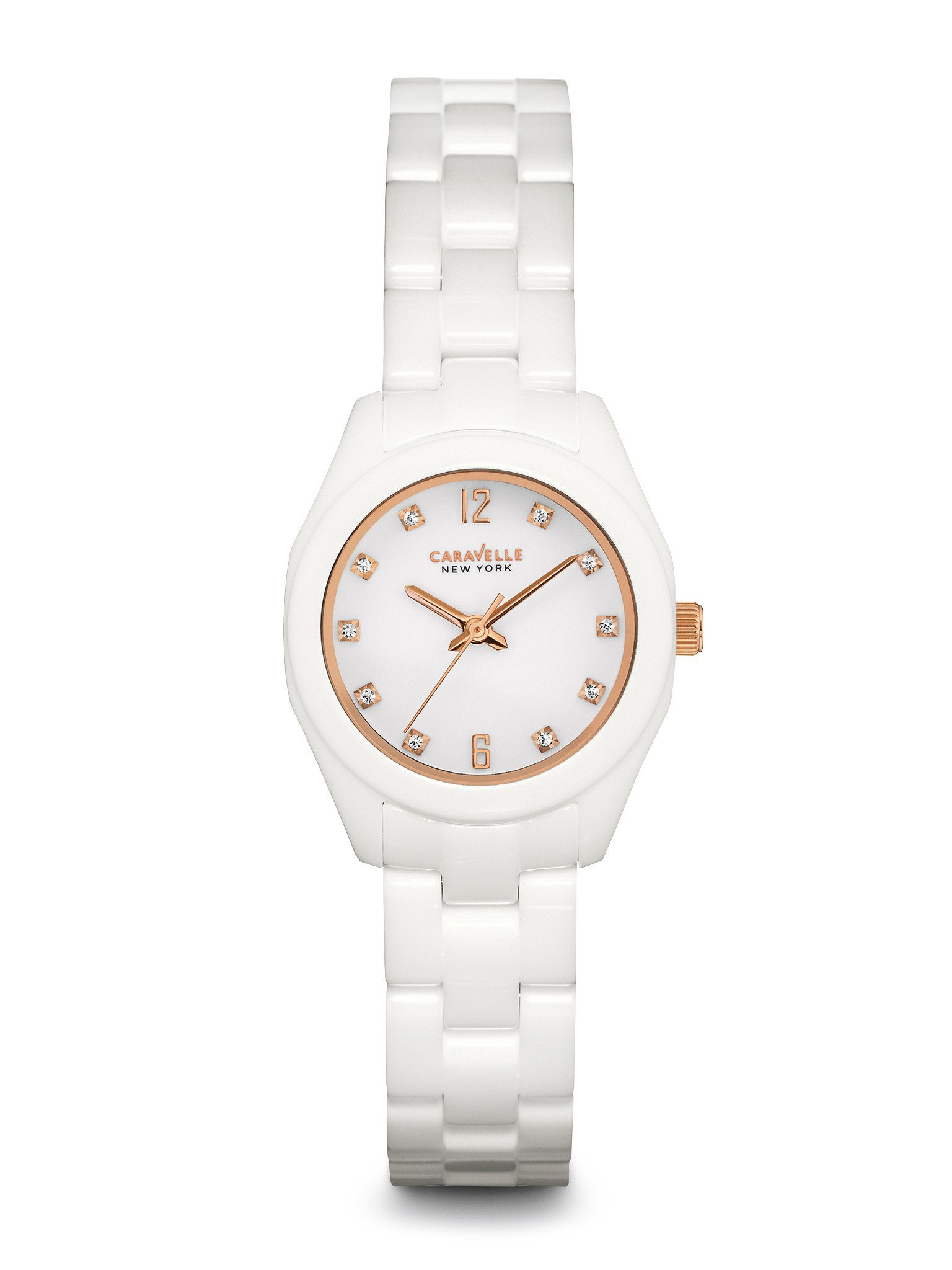 New York watch for women - White dial