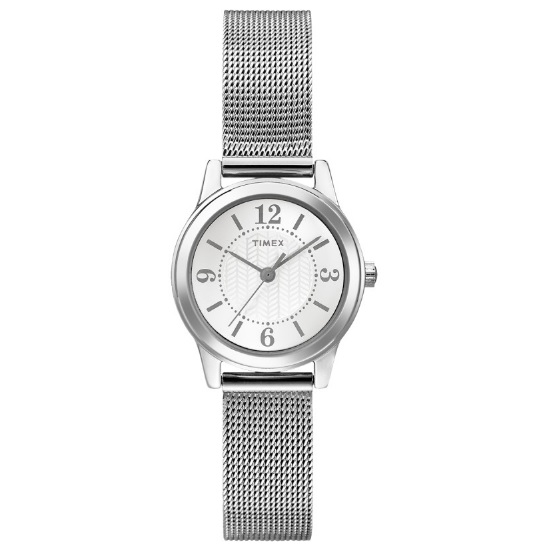 watch with quartz movement for women - Mesh style bracelet