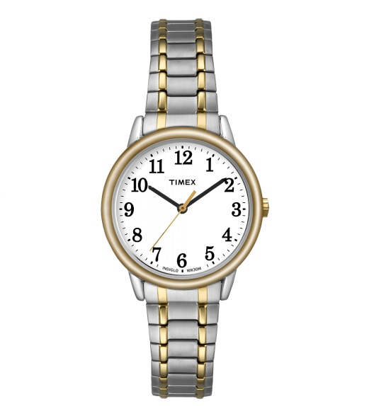 watch with quartz movement for women - Stretch band