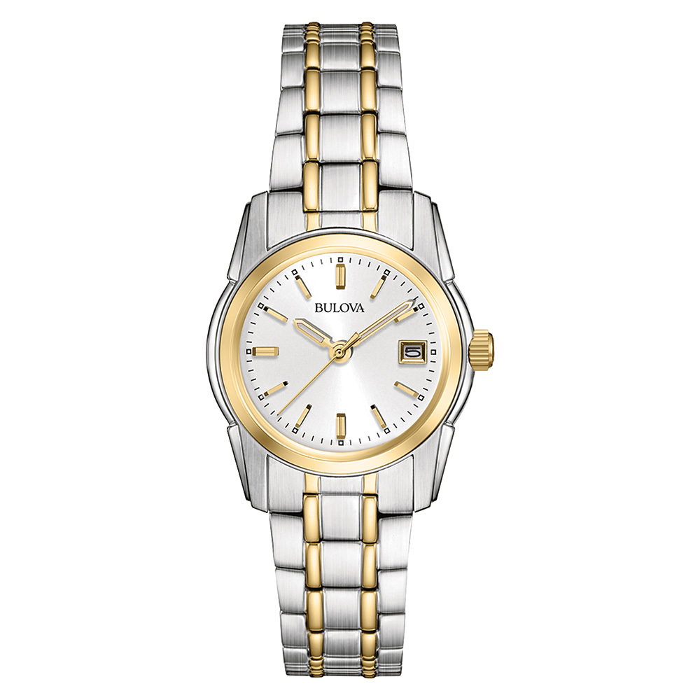 watch with quartz movement for women - Silver dial