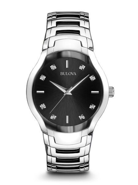 watch with quartz movement for men - Black dial