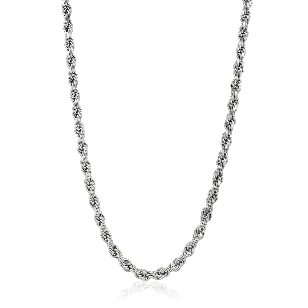 18-inch stainless steel rope chain