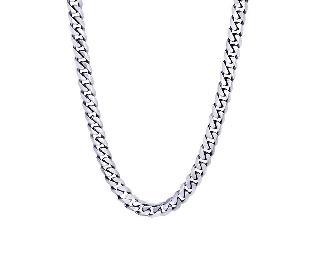 24'' Curb Chain for men  - Stainless steel
