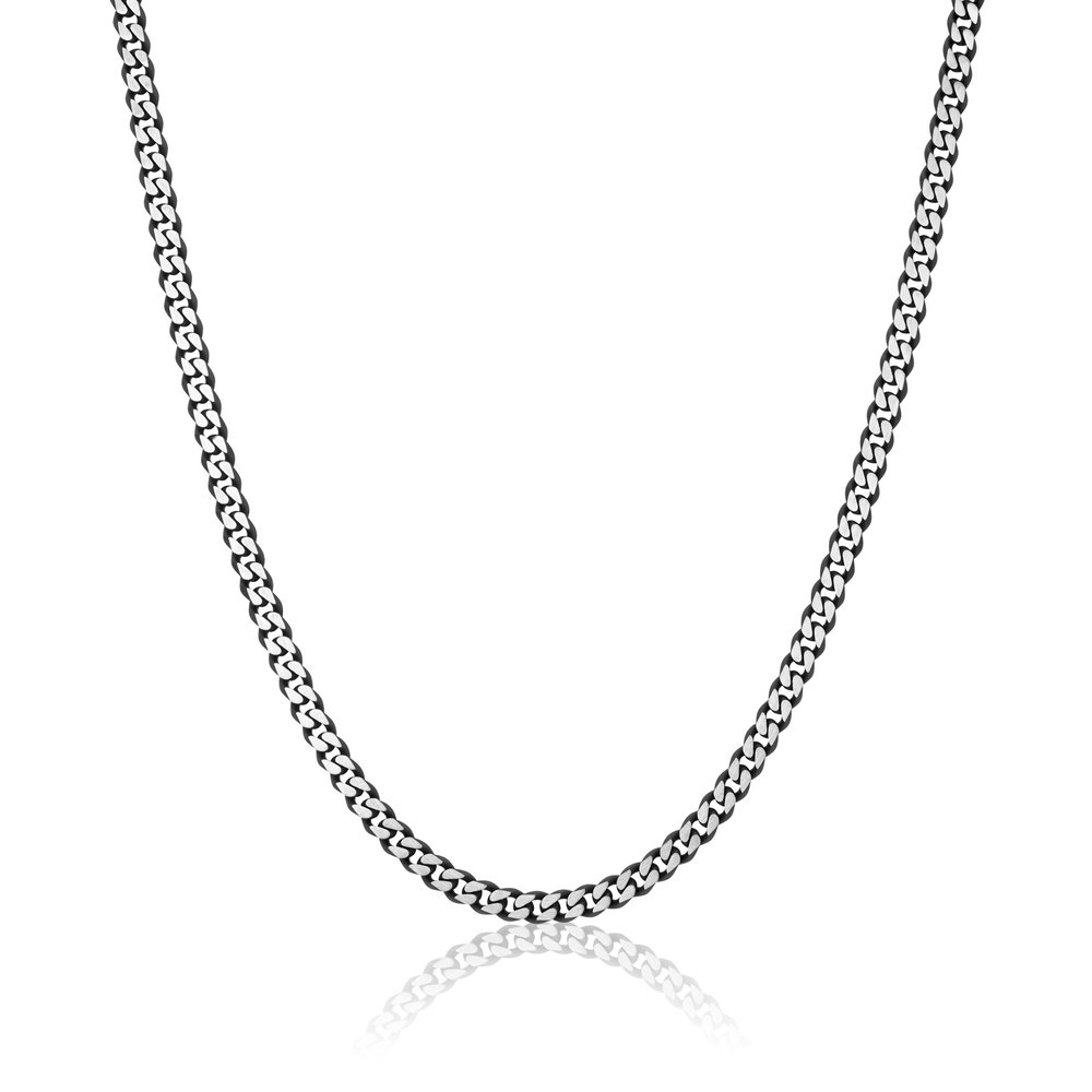 24-inch stainless steel curb chain