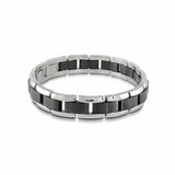 Men's bracelet - 2-tone Stainless steel