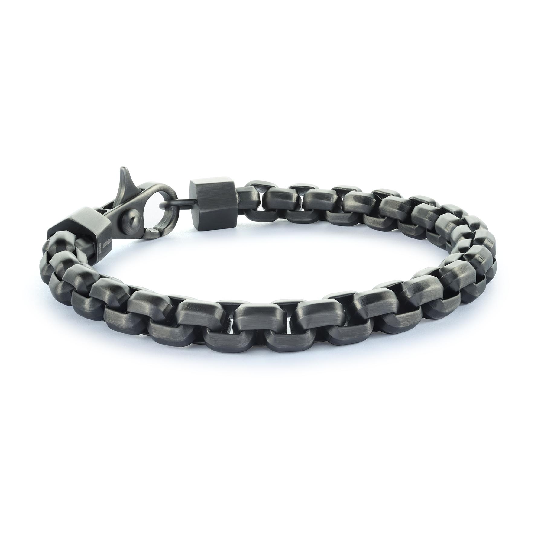 Bracelet - Acier inoxydable & fibre de carbone