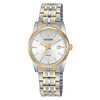 watch with quartz movement for women - Silver dial and mineral crystal