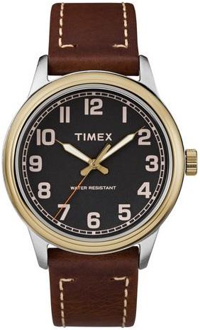 Montre Timex Classique New England - Bracletet en cuir