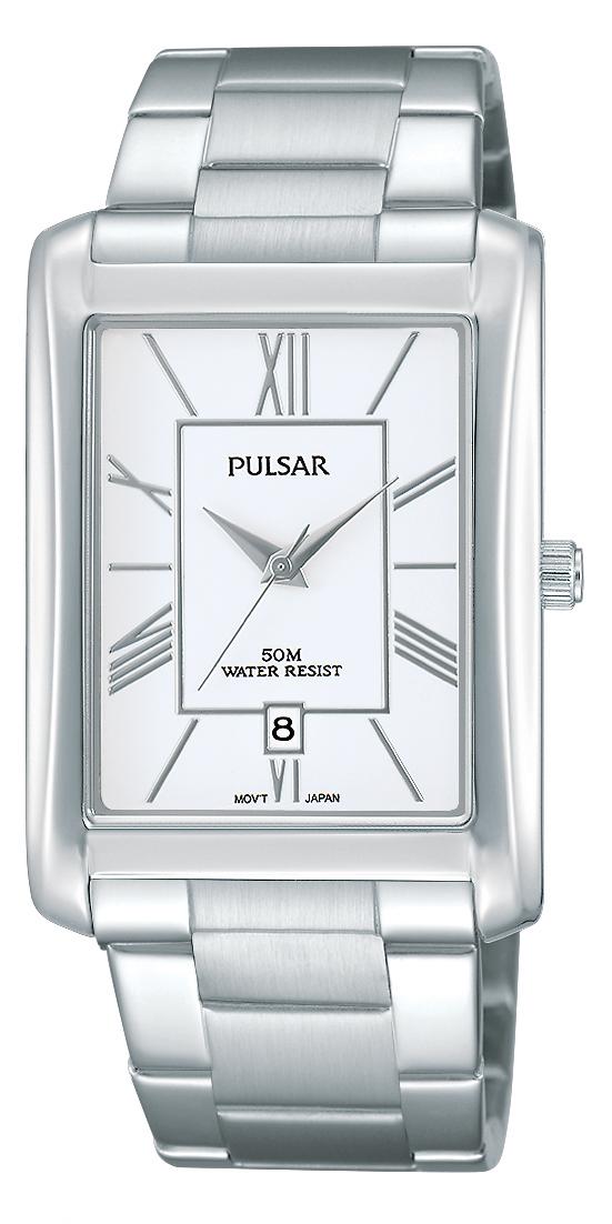 Montre Pulsar pour hommes - Acier Inoxydable