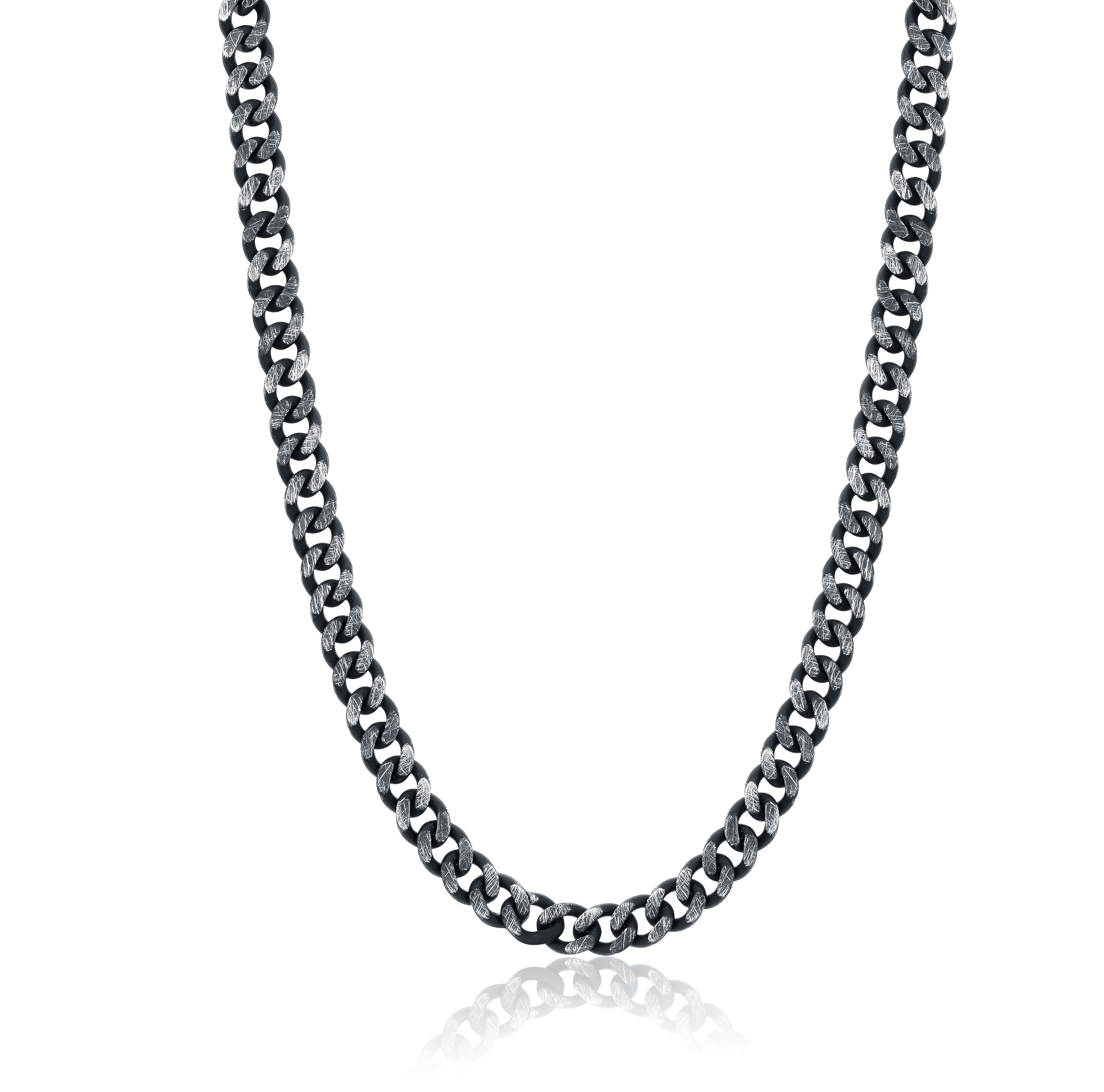 22'' Chain - Black stainless steel