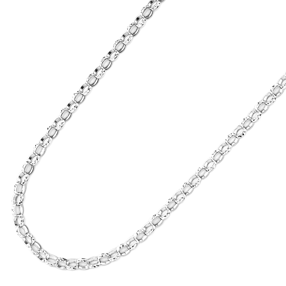 Necklace for woman 17.50 Inches - Sterling silver