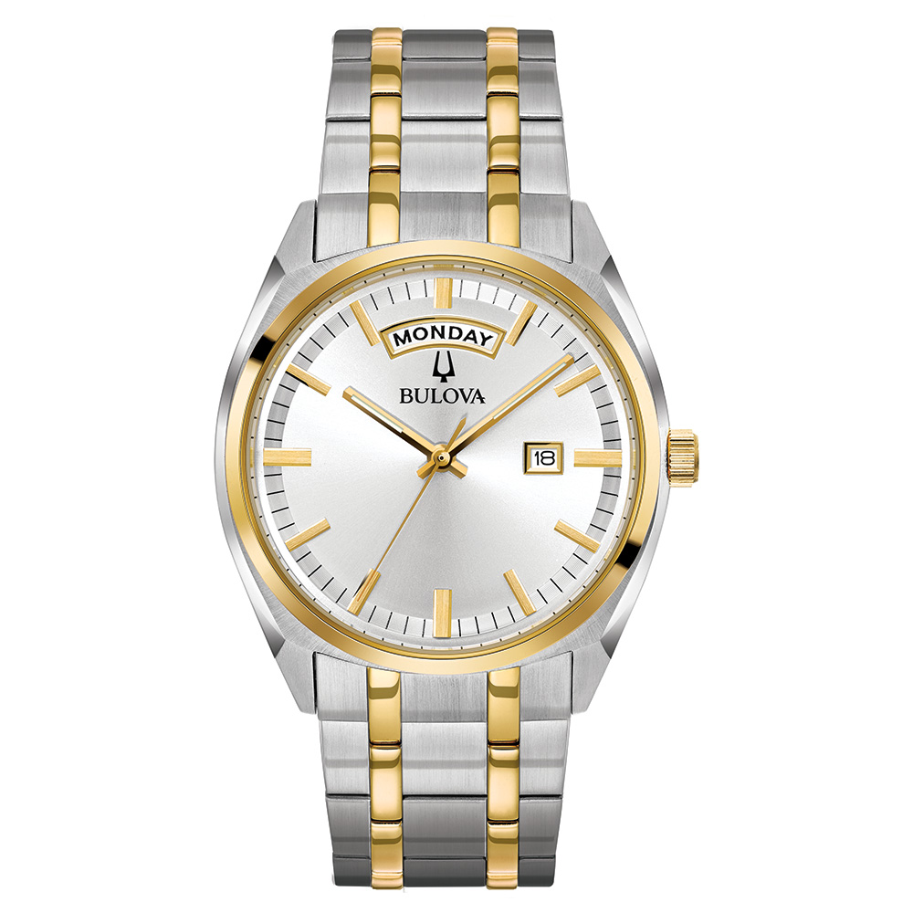 Watch for Men - Gold tone Stainless steel bracelet  and