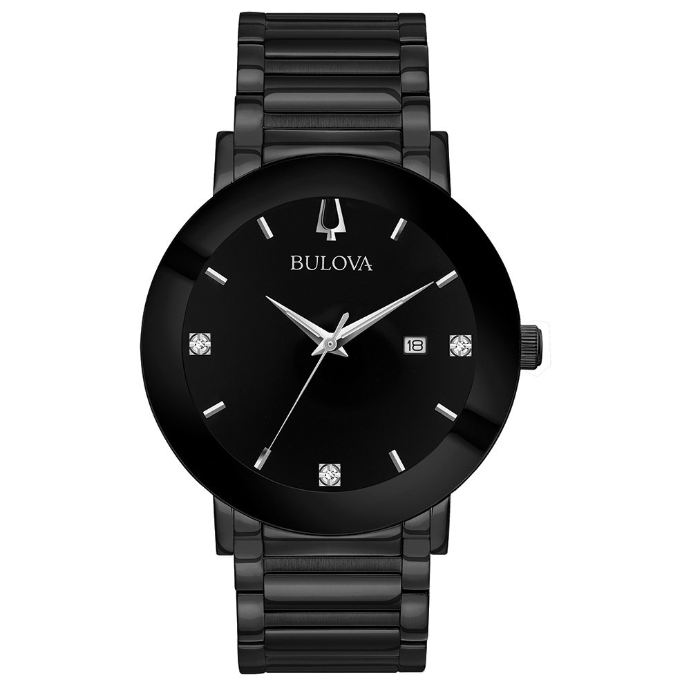 Watch for Men - Black IP stainless steel
