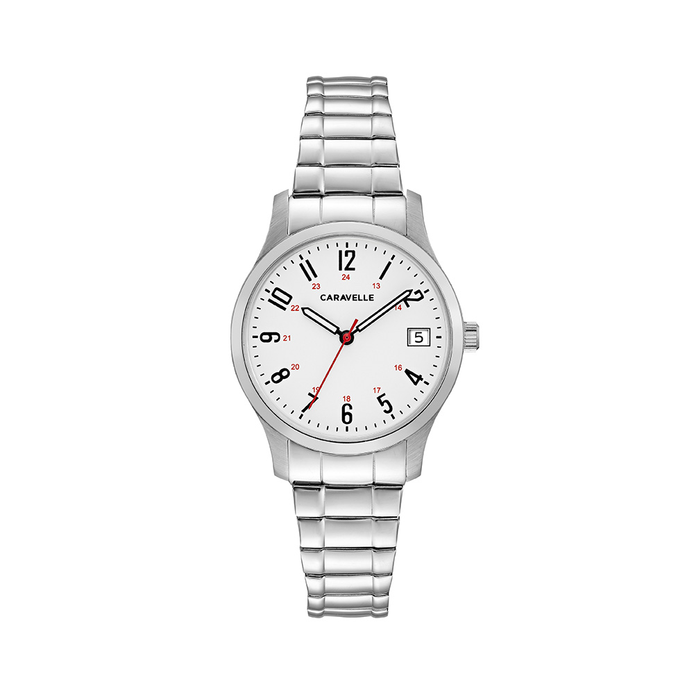 NY Watch for Women - Stainless steel case & Expansion bracelet