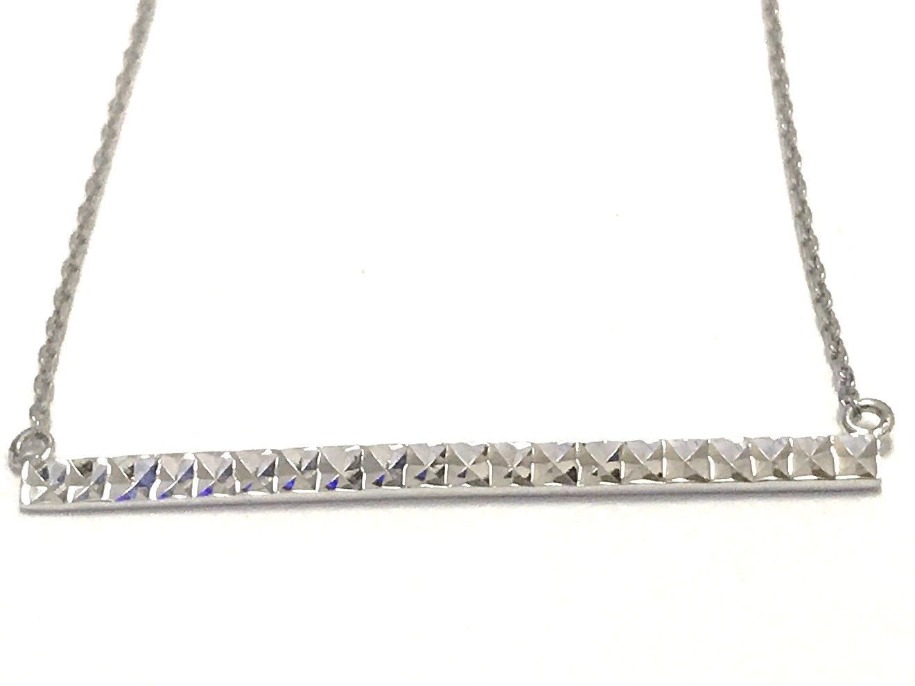 Collier barre - Argent sterling