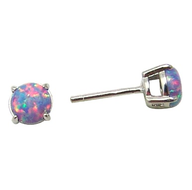 Boucles d'oreilles  - Argent sterling & Opales