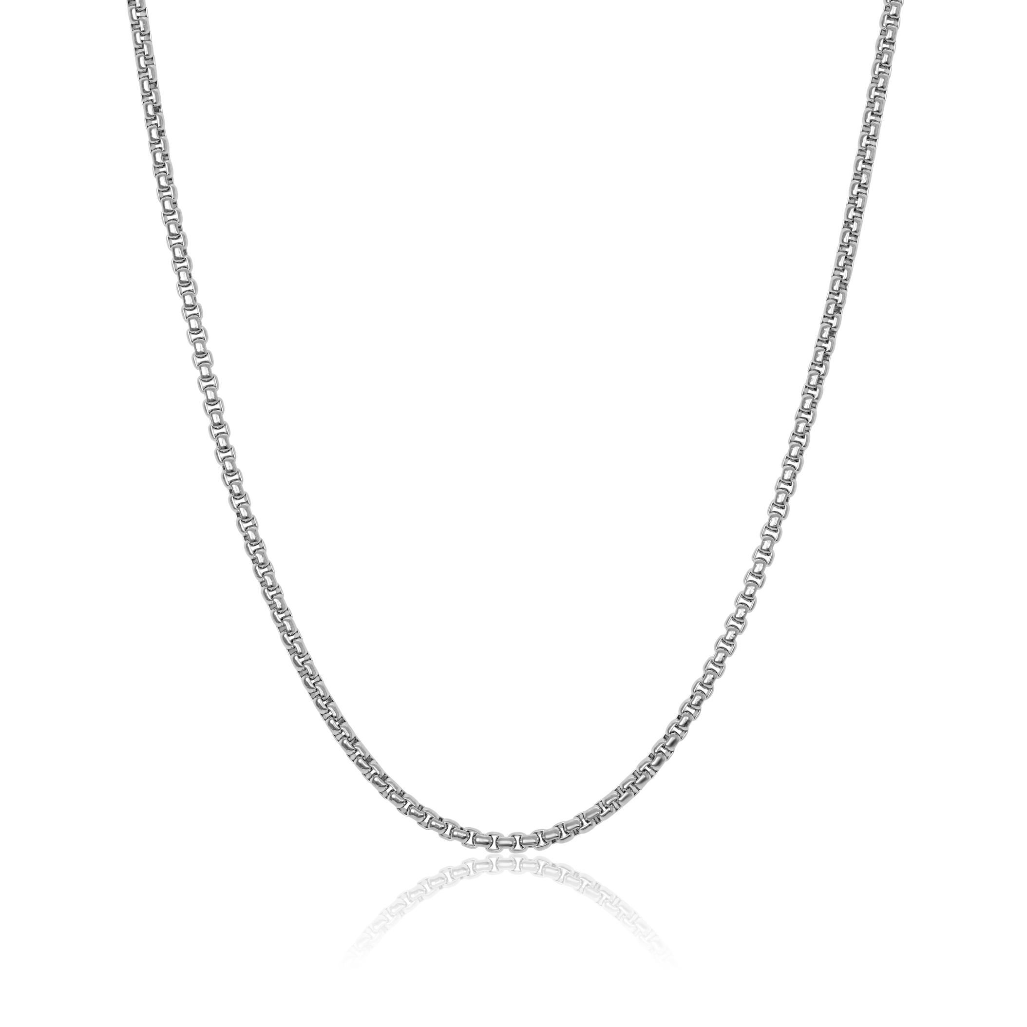 22'' Round box chain - Stainless steel