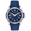 Montre Citizen Eco-Drive pour homme - Acier inoxydable & Bracelet en polyuréthane bleu