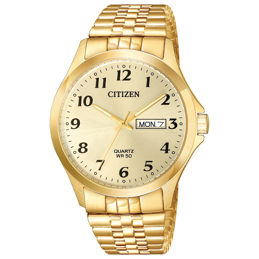 watch for man - Gold tone stainless steel & Champagne dial (BF5002-99P)