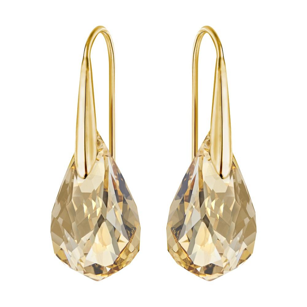 Boucles d'oreilles Swarovski Energic, Doré, métal doré