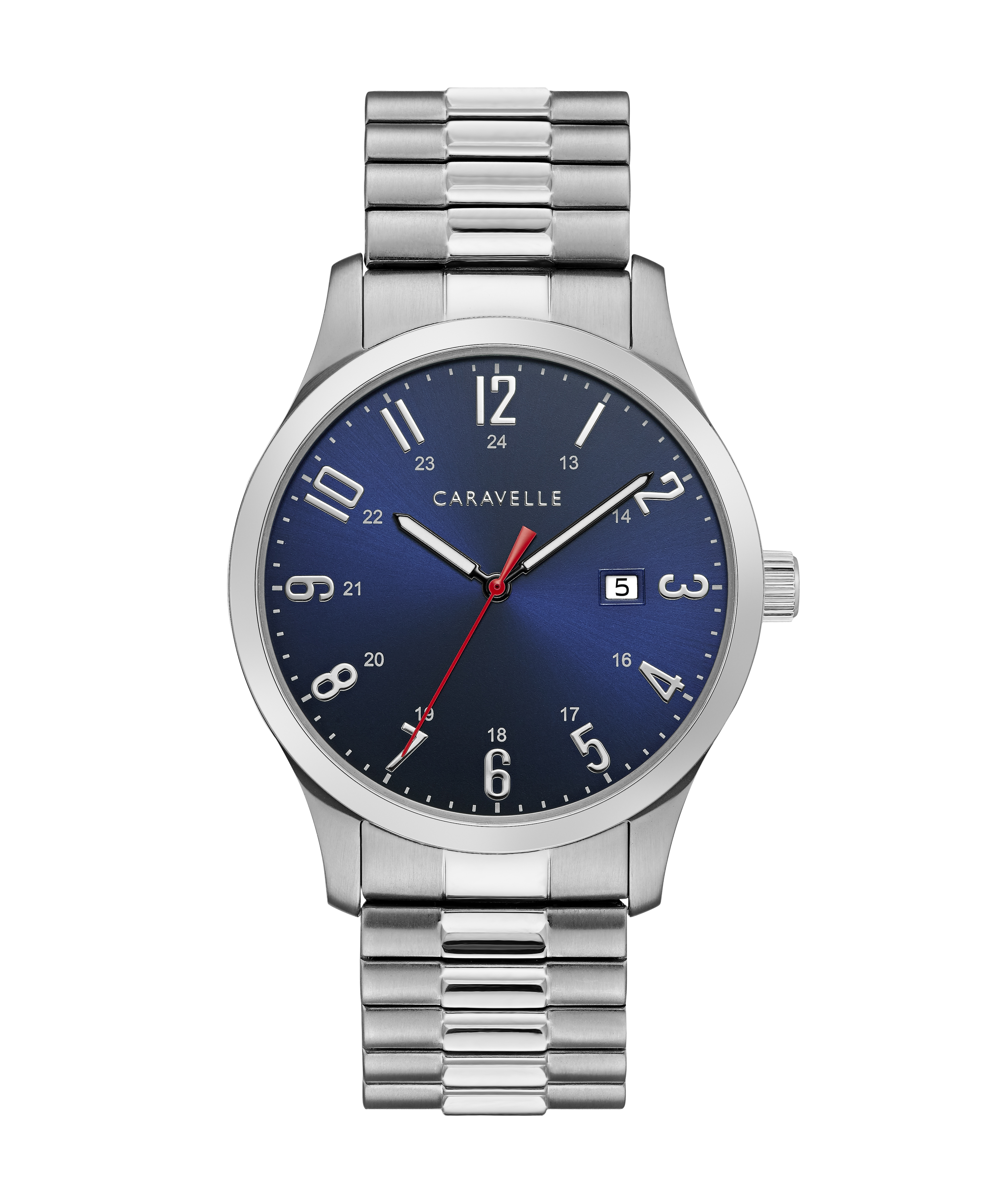 NY Watch for Man - Stainless steel & Dark blue dial