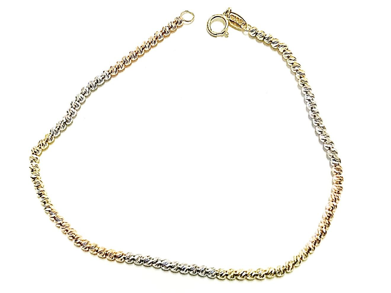 Bracelet pour femme - Or 3 tons 10K