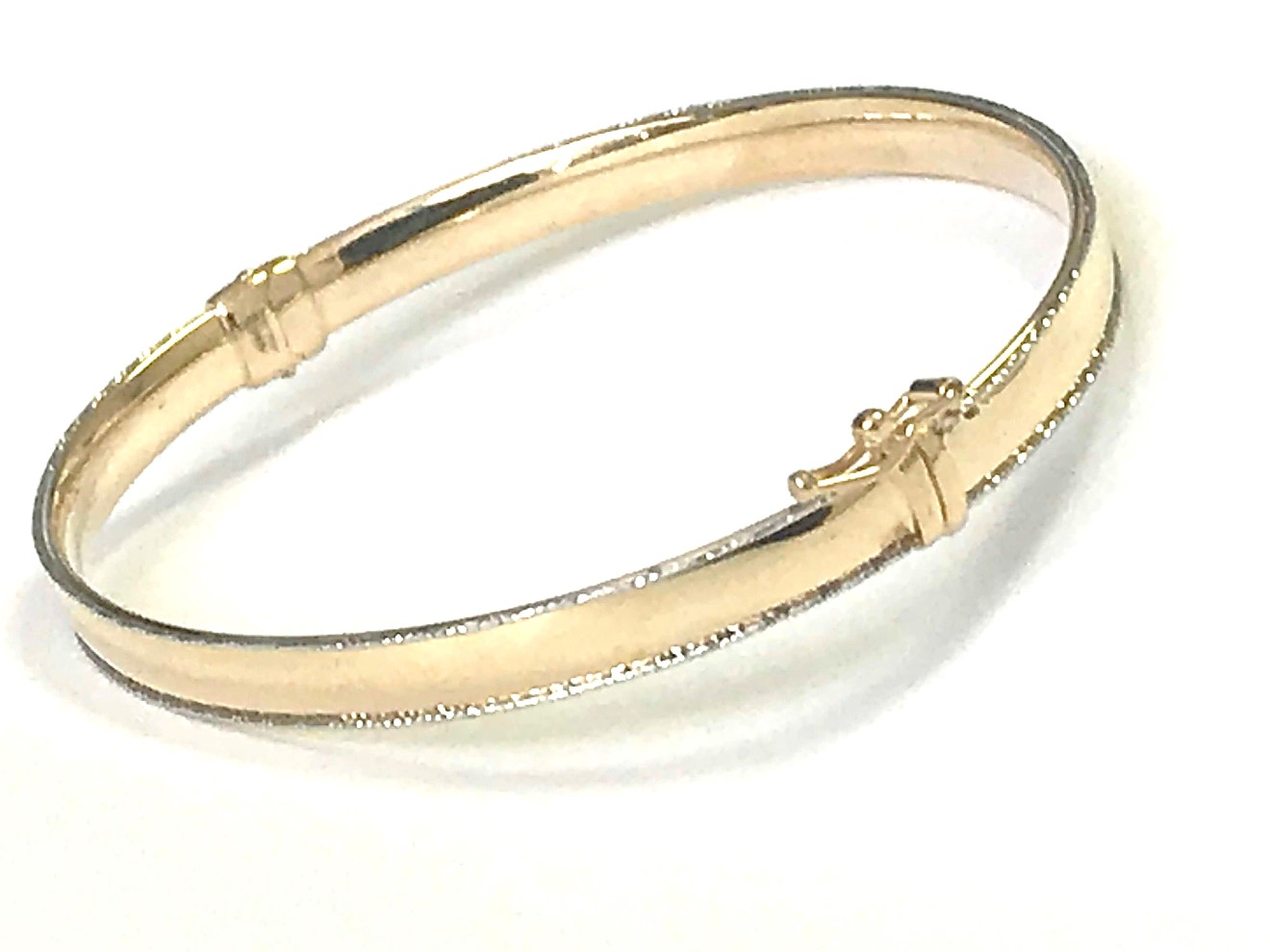 Bangle for woman - 10K 2 tone gold