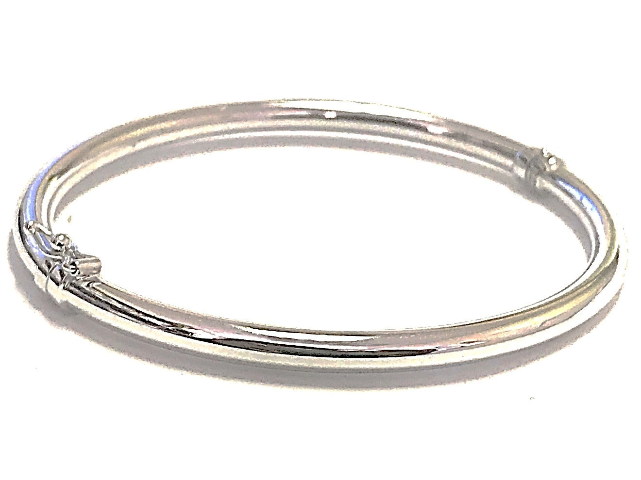 Bangle for woman - 10K white gold